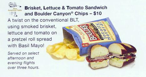 New: Brisket Lettuce Tomato Sandwich