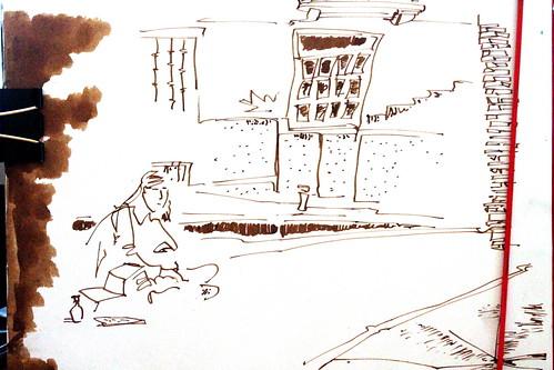 Emily a ras de suelo, museo del ABC, Madrid