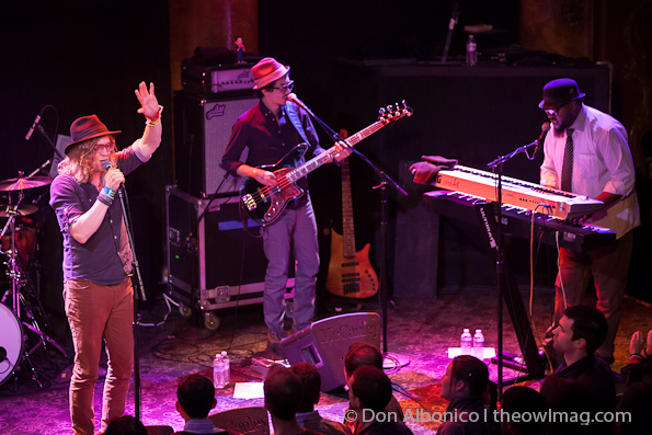 Allen Stone with ZZ Ward and A B & The Sea @ GAMH, SF 3/22/12