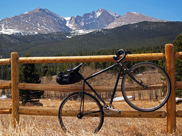 Outside the Longs Peak Trailhead