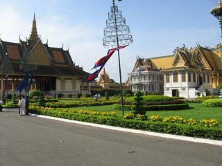 Grounds of the Royal Palace in Phnom Penh