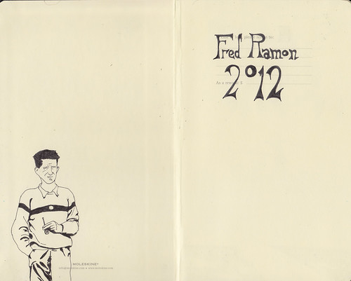A new Moleskine by Fred Ramon