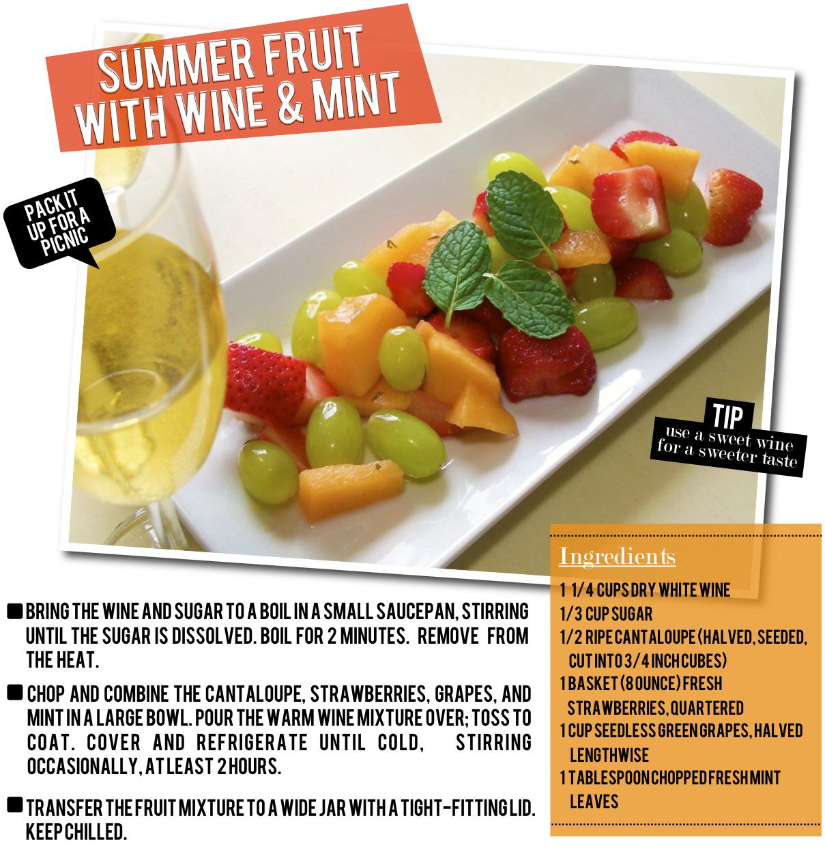 summerfruitwithwineandmint