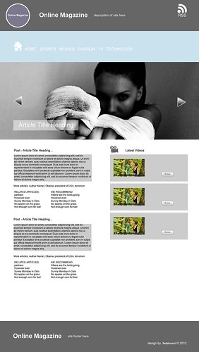 OnlineMagazine(WordPressDesign)