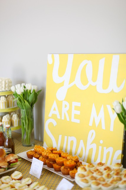 DIY: you are my sunshine sign