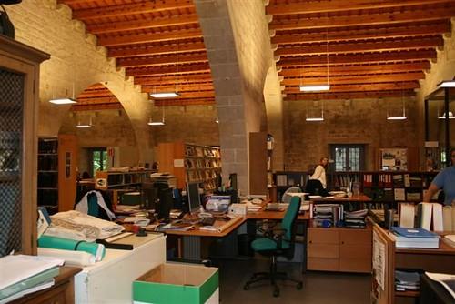 Biblioteca del Museu Marítim de Barcelona. Octubre 2011