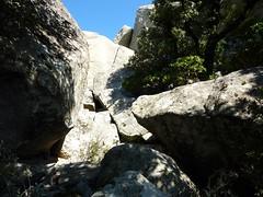 Pointe du Castellucciu di A Tia : accès délicat au sommet