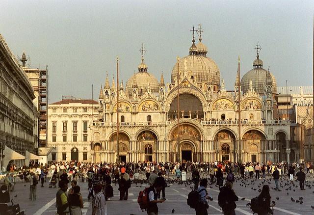 Venice, Basilica di San Marco by Flickr CC Arian Zwegers