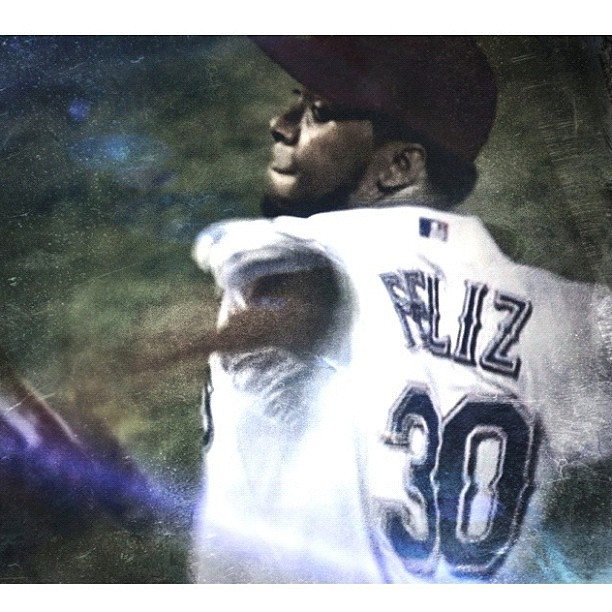 My love! I realized it when Feliz wrapped up the Texas Rangers game with those 100+mph pitches!
