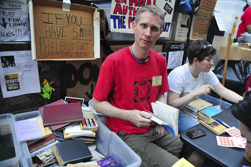 Occupy Wall Street , library
