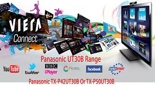 Panasonic Viera UT30B Range (UT-30B/UT30/UT-30) 42 or 50 I