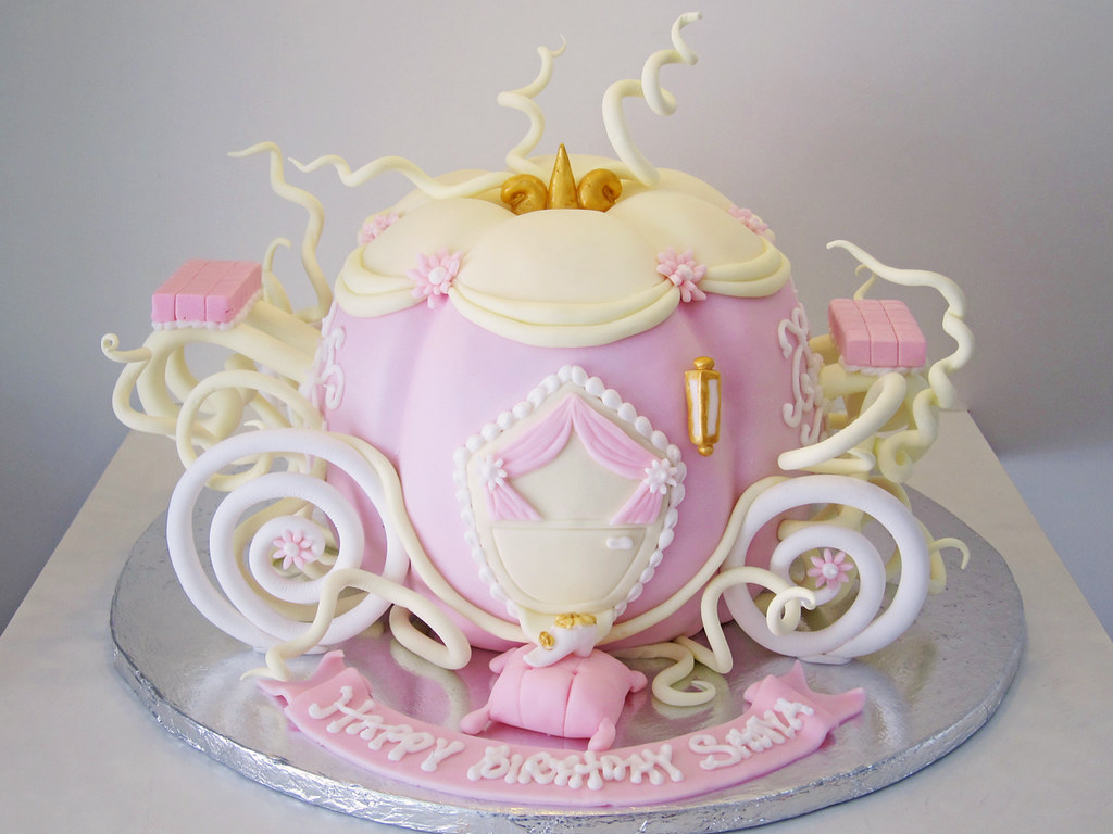 Cinderella Pumpkin Birthday Cake Image Inspiration of Cake and