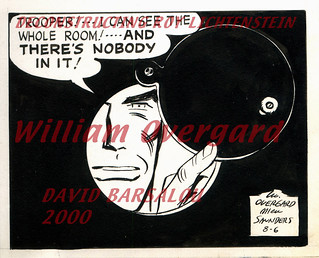 TROOPER !... I CAN SEE THE WHOLE ROOM AND THERE'S NOBODY IN IT ! DECONSTRUCTING ROY LICHTENSTEIN © 2000 DAVID BARSALOU