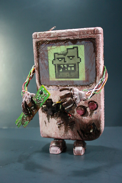 Они захавали Game Boy! Сволочи!