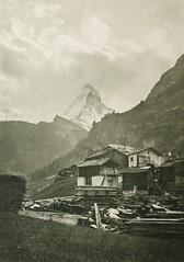 Das Matterhorn von Zermatt Aus, 1904, by Dr. L. Brandt