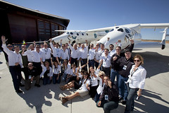 Virgin Galactic Team. Photo by Mark Greenberg