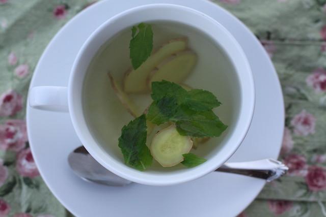 Fresh Ginger-Mint Tea | Flickr - Photo Sharing!