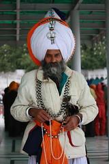 Amritsar, Golden Temple, man with turban