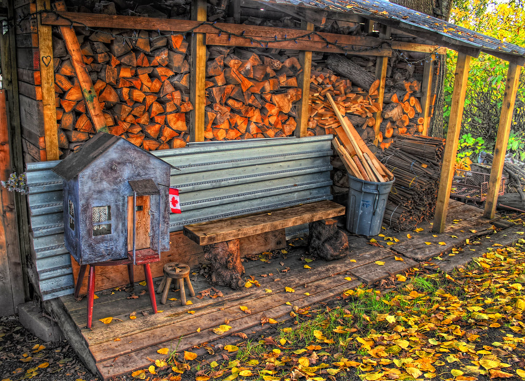 Awe Inspiring Canadian Woodpile Katherine Dykstra Flickr Alphanode Cool Chair Designs And Ideas Alphanodeonline
