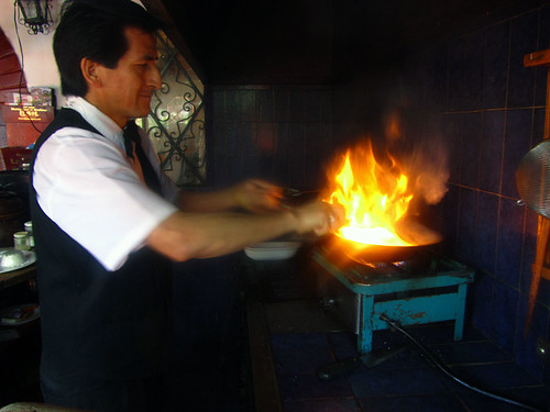 Making Lomo Saltado