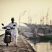 Makassar Old Port by cteteris