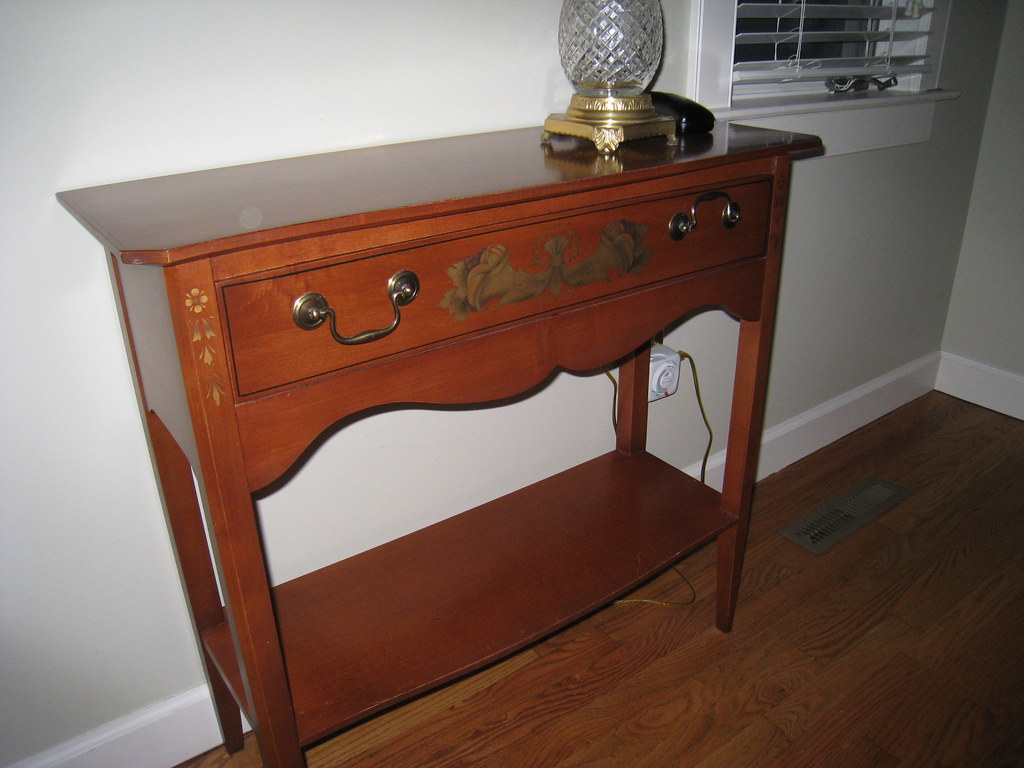 Hitchcock Front Parlor Console Table (Brown) -SOLD