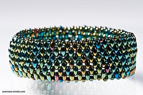 Twin beads bracelet