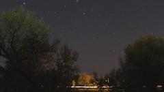 Stellar time-lapse