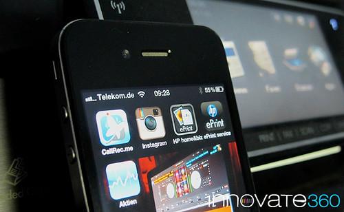 HP ePrint HOME and BIZ mobile APP