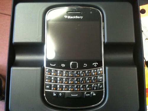 블랙베리 9900