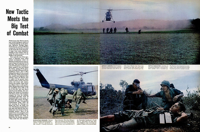 LIFE Magazine September 3, 1965 (3) - New Tactic Meets the Big Test of Combat