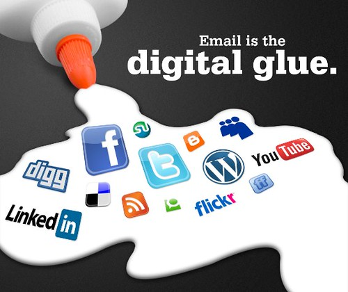 Email is the digital glue.