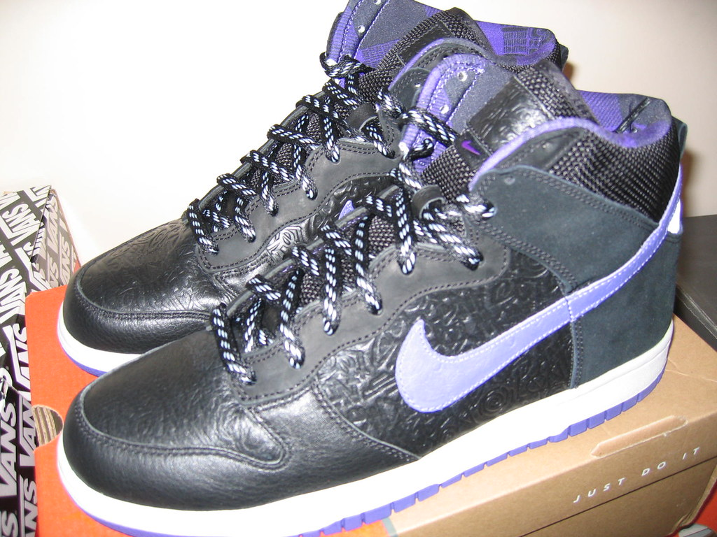 quality design 0a179 f6c76 ... Stussy x Nike Dunk High World Tour (2006)  by Forty Thieves Apparel