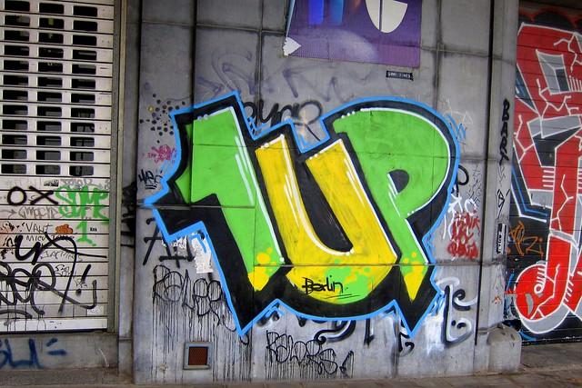 graffiti | 1up | brussels 2011