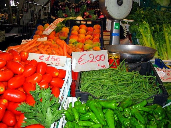 market in florence