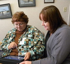 iPad training, Prairie du Chien Memorial Hospital