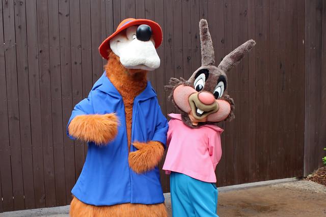 Meeting Brer Rabbit and Brer Bear