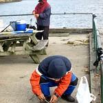 Fishing Pier on the Hudson River, Palisades Interstate Park, Englewood Cliffs NJ