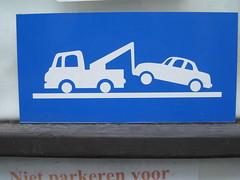 Traffic signs / verkeersborden