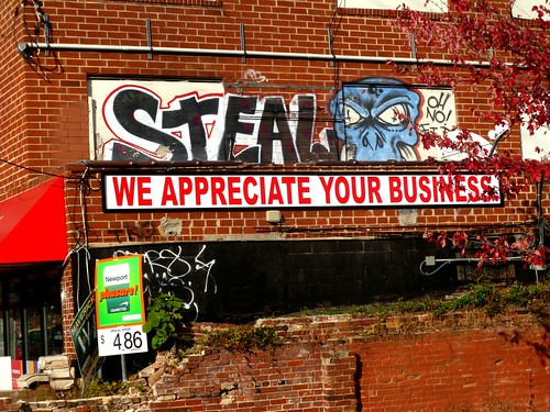 Steal: We Appreciate Your Business