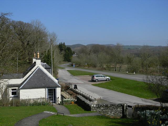 Cardoness Castle - View inland
