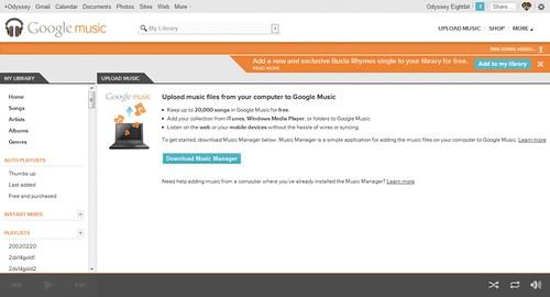Upload music - Music Beta