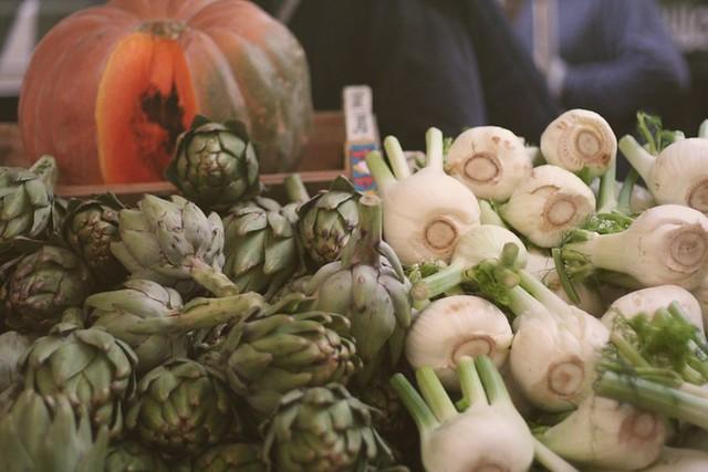 grønnsaksmarked i