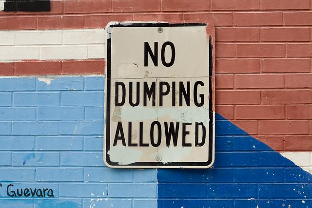 365.46 Yeah Che, No Dumping.