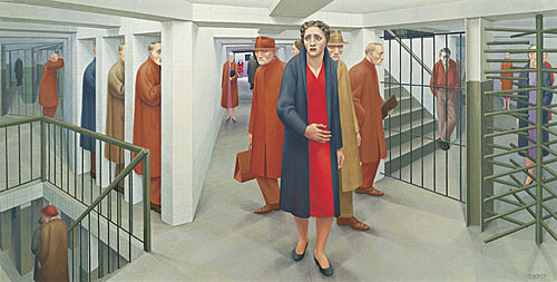 the Subway, George Tooker.jpg