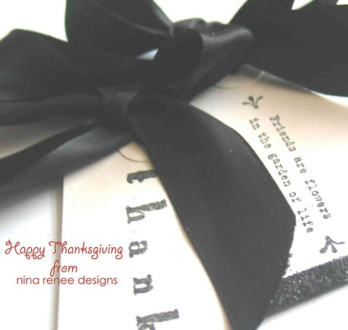 {Thank You} Bridesmaids Gift Tags by Nina Renee Designs
