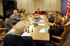 Meeting with the Board of Supervisors