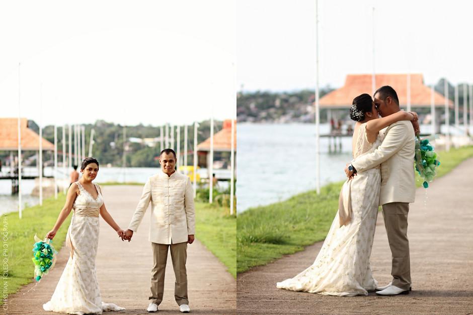 Cafe Lawis Wedding, Dauis Church Panglao Island