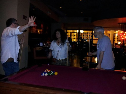 playing pool at icfa