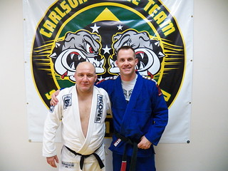 Indianapolis Braziilan Jiu Jitsu Carlson Gracie Jr and Alan Stockman